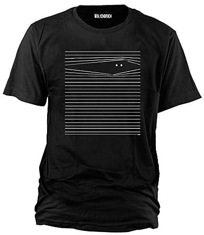 Wolkenbruch® Herren T-Shirt Augen auf, Gr.L