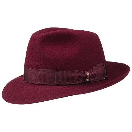 borsalino-classico-cappello-in-feltro-di-lapin-cappello-di-feltro-63-cm-rosso-bordeaux