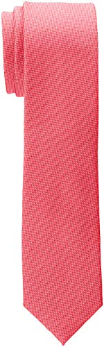 ESPRIT Collection Herren Krawatte 998EO2Q803, Rot (Red 630), One Size (Herstellergröße: 1SIZE)