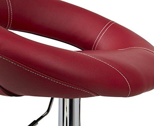 Woltu sgabelli da bar sedia cucina con schienale poggiapiedi