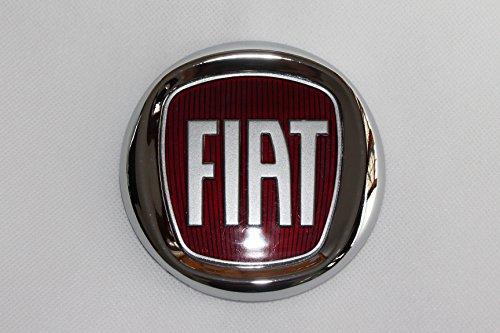 ETC Arrière Original Emblème Badge chromé Ø 95 mm 9,5 cm FIAT PANDA GRANDE PUNTO