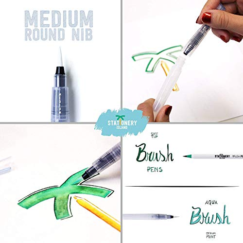 Stationery Island Brush Pen Set - 3
