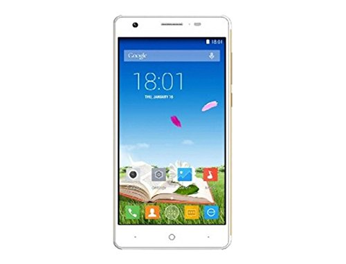"ZOPO ZP720 Flash E 5.3"" SIM Doble 4G 1GB 16GB 2330mAh Oro, Blanco - Smartphone (13,5 cm (5.3""), 1 GB, 16 GB, 13,2 MP, Android 4.4, Oro, Blanco)"
