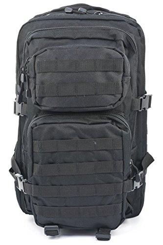 Armée militaire Patrol Assaut Pack Tactique Combat Sac à dos sac à dos sac 36L noir