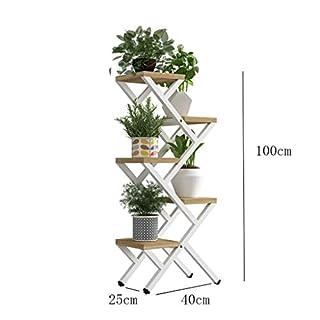 Wohnzimmer Blumenständer Multi-Layer-Indoor-Multifunktions-Balkon Dekoration fleischige grüne Blume Regal Eisen Specials Platz sparen