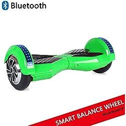 """Dragon Hoverboard con Ruote da 8"""" Monopattino Elettrico Autobilanciato Self Blance Scooter Skateboard Elettrico Smart Self Balance Board."""