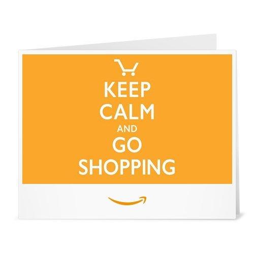 Amazon.de Gutschein zum Drucken (Keep Calm Shopping)