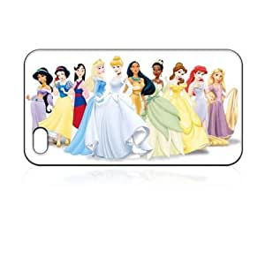 Disney Princess' iPhone 4 4S Case Ariel, Pocahontas, Jasmine, Snow White, Mulan