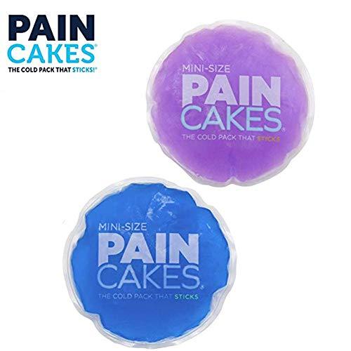 Gorgeousy Runde Wiederverwendbare Gel-Eisbeutel, medizinischer Eisbeutel, Eisschmerz-Pack für Weisheitszähne, müde Augen, Gesicht, Kopfschmerzen, Nasennebenhöhlenentlastung -