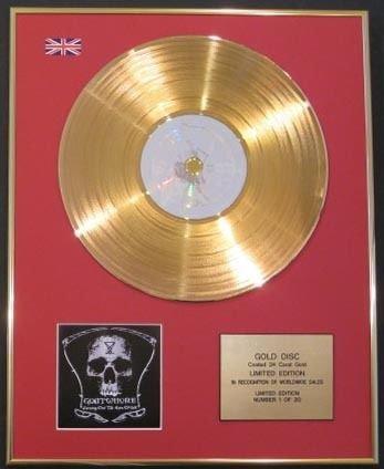 GOATWHORE-CD in oro 24 k, da intaglio, gli occhi di fuori