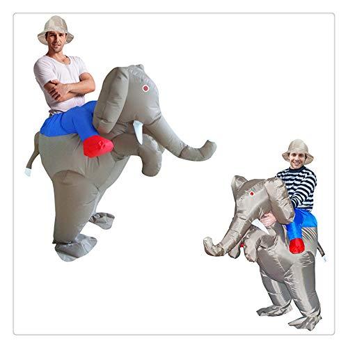 Z-one 1 Elefant Tier Einhorn/Sumo/Bull Aufblasbare Kost¨¹m Anzug Halloween Cosplay Fantasy Kost¨¹me Kinder