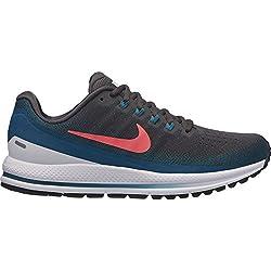 Nike Air Zoom Vomero 13, Zapatillas de Running para Hombre, Gris (Thunder Grey/Hot Punch/Geode T 008), 43 EU