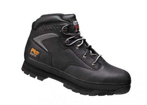 Timberland Pro Steel Toe Work Boots Eurohiker 2 Black Size 10 Black Steel Toe Work Boot