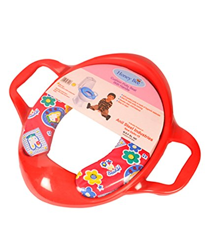 Honey Bee Cushioned Potty Seat with Handle