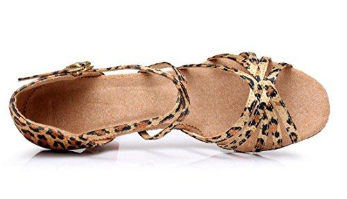 TDA - Peep-Toe donna 7cm Leopard