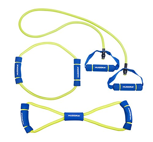 HUDORA Expander-Seil Set, 3-teilig - Fitness-Band - 76768