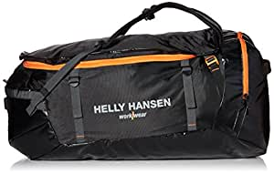 Helly Hansen workwear travel bag duffel bag, 120 litre water resistant case and backpack for business and leisure, std as the case may be, one size fits all, black, 79568