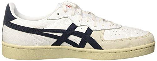 Asics Gsm Unisex Adulto Sneaker Avorio (bianco / Blu Navy)