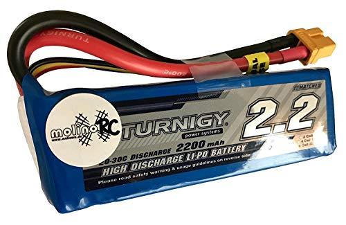 Turnigy 2200mAh 3S 20C -30C Lipo Pack bis 2C ladefähig molinoRC - Hobbyking