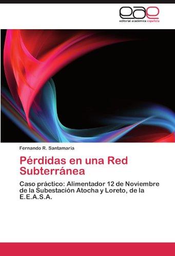 Pérdidas en una Red Subterránea por Santamaria Fernando R.