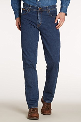 Wrangler - Texas Stretch - Jeans - Homme Darkstone