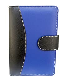 Tied Ribbons Office Stationer Blue & Black Cover High Quality A5 PlannerOrganizer Hard Bound(21.1x13.2cm)