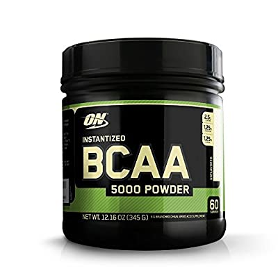 Optimum Nutrition BCAA 5000 345g Muscle Building and Recovery Powder from Optimum Nutrition