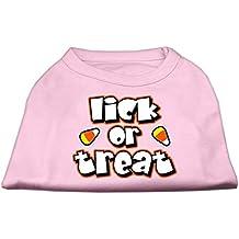Mirage mascota perro suministros Lama o tratar Protector de impresión camisetas luz rosa M (12)