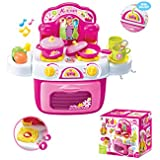 Toyhouse Kitchen Set with Light and Music, Pink