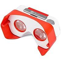 I Am Cardboard - DSCVR-Red - DSCVR Dispositivo di Realta Virtuale Red - rosso