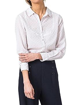 Indi Camicia & Bianco Lurex fredda MI238 Topitos