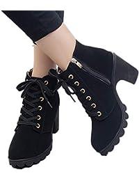 Amazon.it  JOYTO - Stivali   Scarpe da donna  Scarpe e borse b9d140663b9