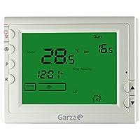 Garza Power - Termostato Digital programable para Caldera y calefacción. Cronotermostato Digital Controlador de Temperatura.