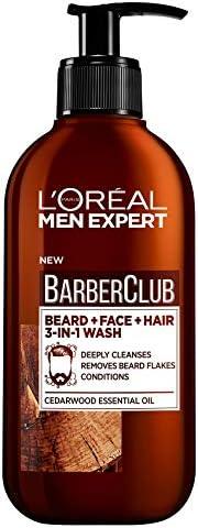 L'Oreal Men Expert Barber Club 3-In-1 Beard, Hair & Face Wash