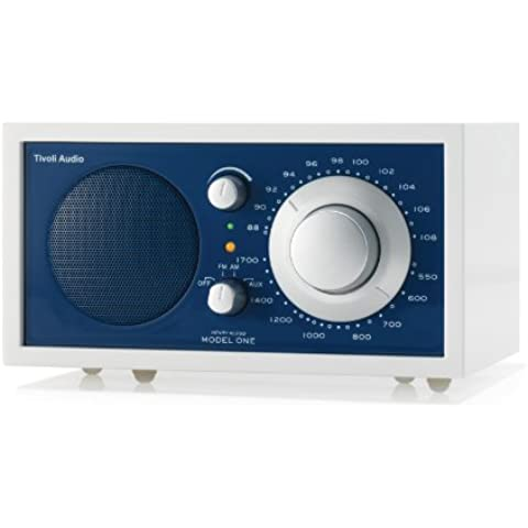 Tivoli Model One Frost White collection - Radio (AM, FM), color blanco (importado)