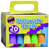 POOF-Slinky 0C8907BL POOF Colored Sidewalk Drawing Chalk Pack with Portable Storage Case and Handle bébé, nourrisson, enfant, jouet