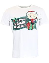 Family Guy Freakin Holidays White T-shirt Official Licensed TV