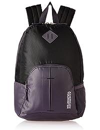 83b5148e34ea American Tourister 20 Ltrs Black Small Casual Backpack (AMT HOOP BACKPACK- BLACK)