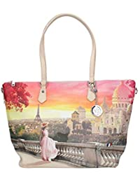Y NOT  shopping bag woman with shoulder strap L-397 MIAMI 313a5f80692