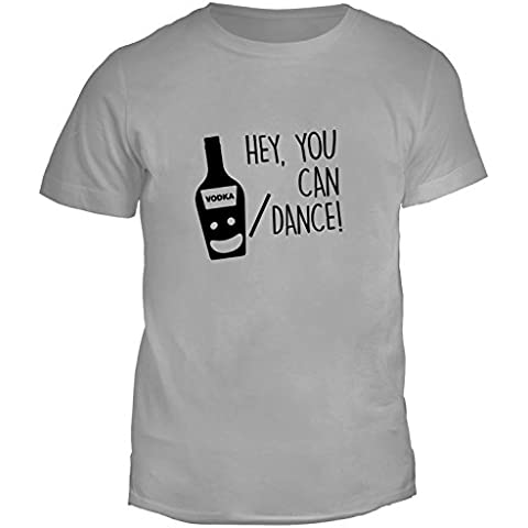 T-shirt da uomo con Hey, You Can Dance. Scherzo Frase Motivazionale stampa.