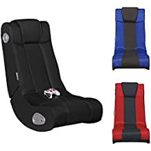 FineBuy PrŽsident Son GAMER Multimedia Fauteuil Gaming prŽsident Musique Rocker avec chaise son systme sonore intŽg