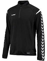 Hummel AUTH. Charge Entrenamiento Sudadera–Black, color negro, tamaño 152