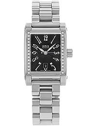 Oris Culture Miles Rectangular 56175364968MB Diamonds Stainless Steel Automatic Women's Watch