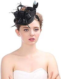 eb081906e7567 Amazon.es  sombrero de plumas - Sombreros de vestir   Sombreros y ...