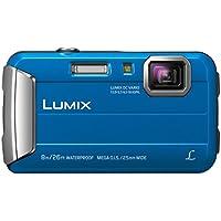 Panasonic LUMIX DMC-FT30EG-A Outdoor Kamera (16,1 Megapixel, 4x opt. Zoom, 2,6 Zoll LCD-Display, 220 MB interne Speicher, wasserdicht bis 8 m, USB) blau