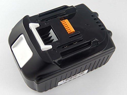 INTENSILO Li-Ion Batteria 5000mAh per utensile elettrico Makita BML801, BML801, BML801, BMR050, BMR100W, BO180D, BO180DRF, BO180DZ sostituisce BL1830, 194204-5. | Durevole  | Più economico  | economia  c4ca39
