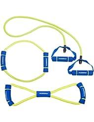 Hudora Expander Kit de fitness Bleu/Jaune