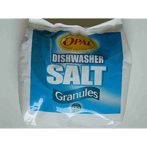 Opal Dishwasher Salt Granules Poly Bag 2kg x 2 by Opal