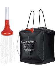 ALIXIN CP075-40L/10Gallon - Bolsa de Ducha Solar para Senderismo y Camping,