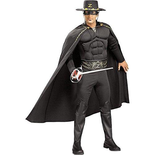 Zorro Deluxe Kostüm aus Zorro, (Zorro Deluxe Kostüme)